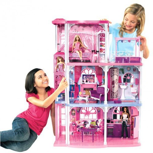 Our Christmas Pick Barbie Dollhouse With Elevator Sees Inc