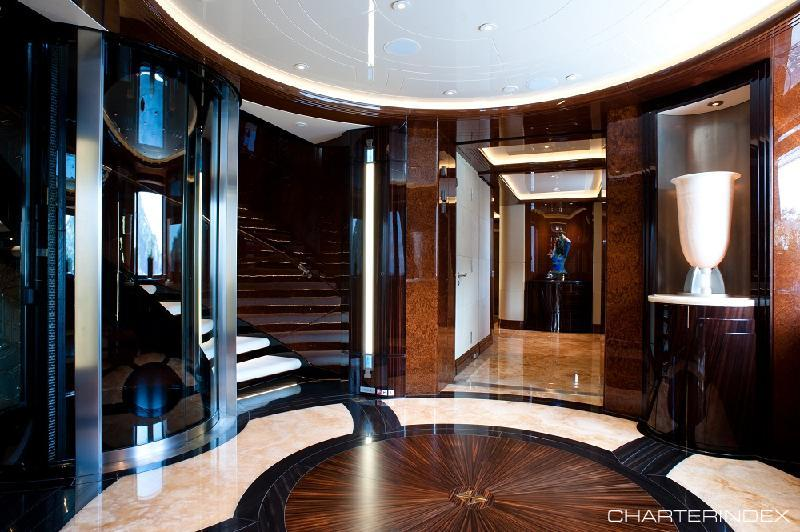Foyer Luxury Zoo : Impressive yacht elevators sees inc