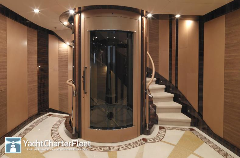 Impressive yacht elevators sees inc for Luxury elevator